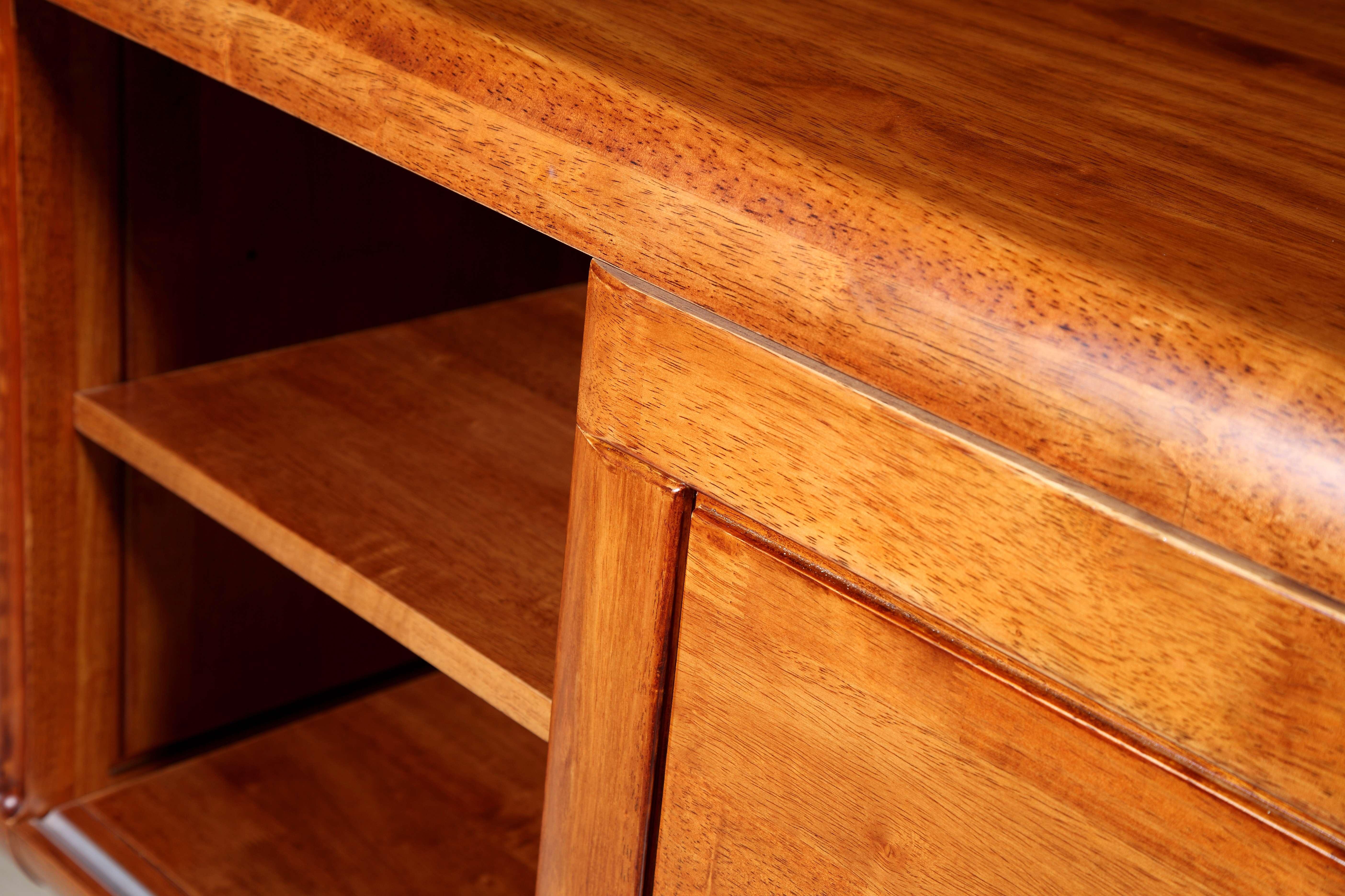 【木色天香】南洋芯木老板桌办公组合